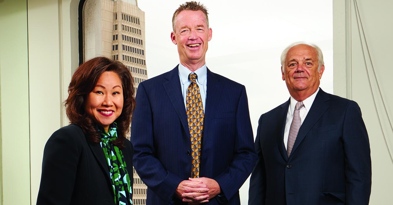 Lawyer Limelight: Michael Kelly, Richard Schoenberger and Doris Cheng