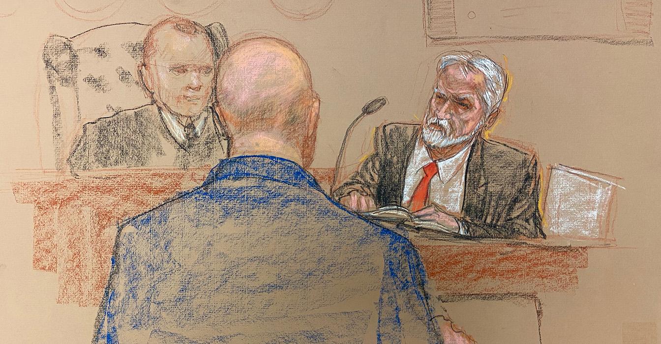CIA's 9/11 Interrogation Leader Sheds Defiant Tears Testifying at Guantanamo Bay